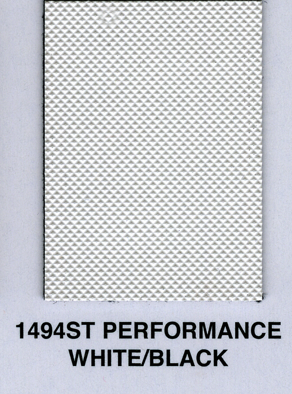 PERFOMANCE WHITE/BLACK PINPOINT TOPPING MATERIAL