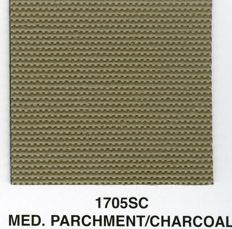 MED PARCHMENT/CHARCOAL SAILCLOTH TOPPING MATERIAL