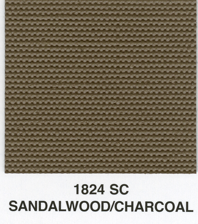 SANDALWOOD/CHARCOAL SAILCLOTH TOPPING MATERIAL