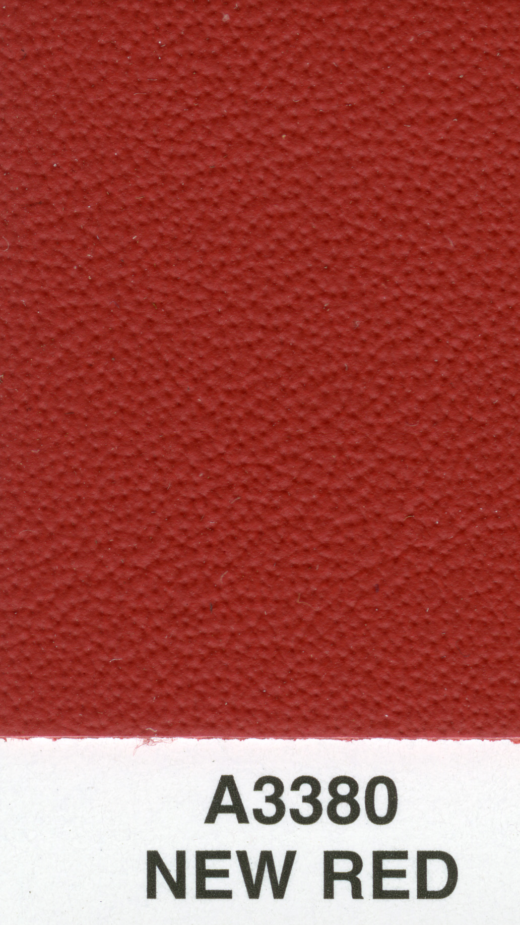 NEW RED EURO AUTOLUX LEATHER