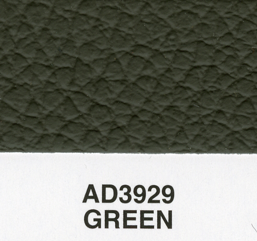 GREEN CRICKET GRAIN LEATHER