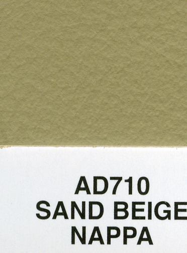 SAND BEIGE NAPPA AUDI LEATHER