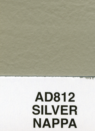 SILVER NAPPA AUDI LEATHER