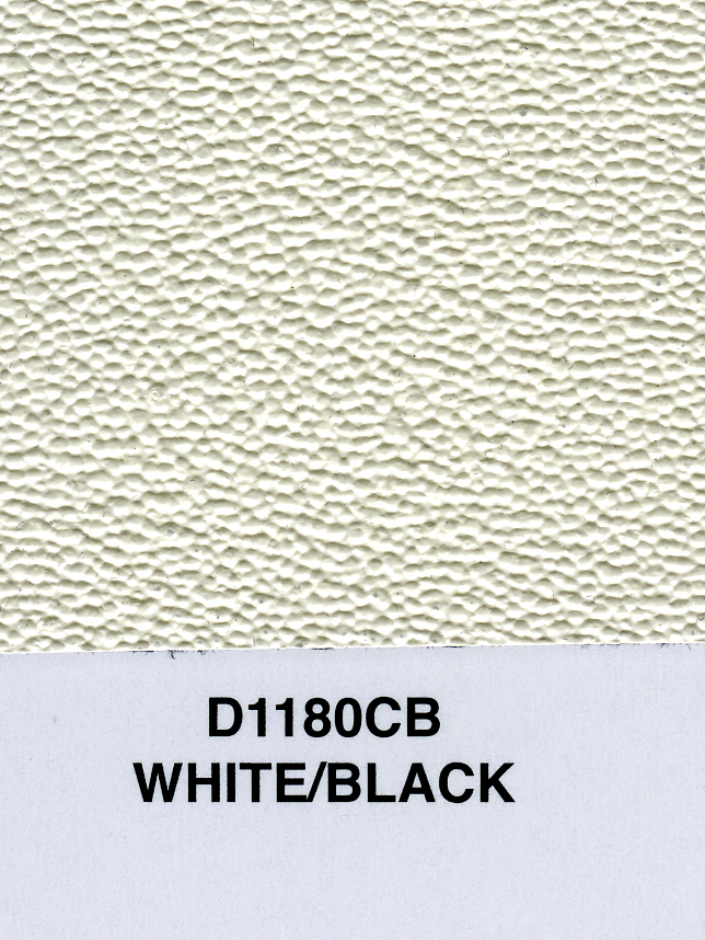 WHITE/BLACK CABRIO TOPPING MATERIAL 60