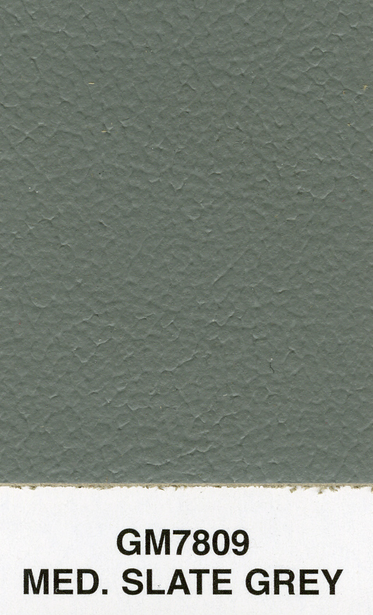 MED SLATE GREY DUMA SMOOTH LEATHER