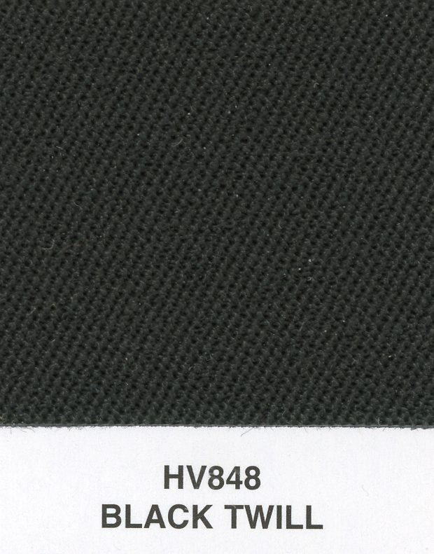 BLACK TWILL TOPPING MATERIAL (S-2000, 350Z)