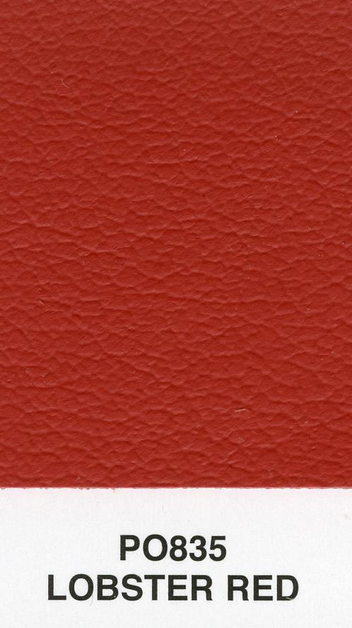LOBSTER RED RENO LEATHER